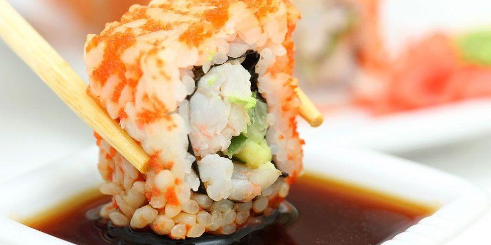 Свежайшие суши и роллы!!!